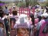 Ni cita para hablar con el Papa, ni boletos para verlo en Juárez; lejitos, mamás de desaparecidas